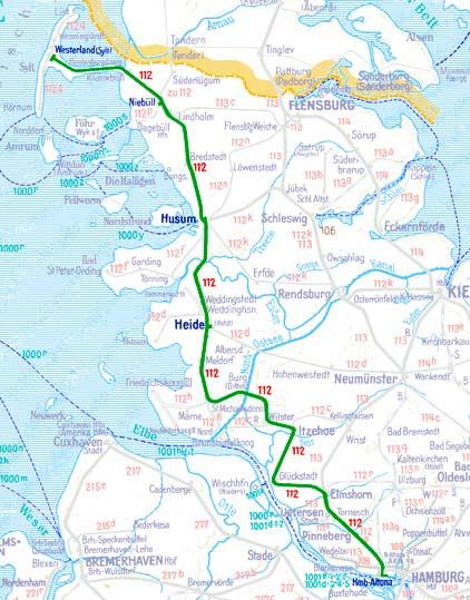 D135-Hamburg-Westerland-map