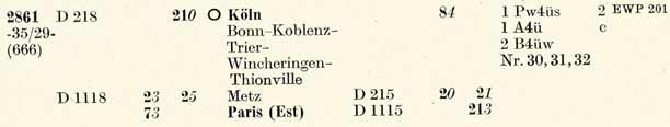 D/E 707 und D 708 Oberstdorf—Dortmund Hbf 2861-Deutzerfeld-ZpAU-So58-150