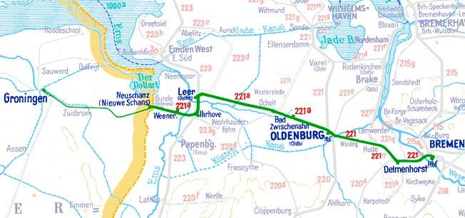 E490-E493-Bremen-Groningen