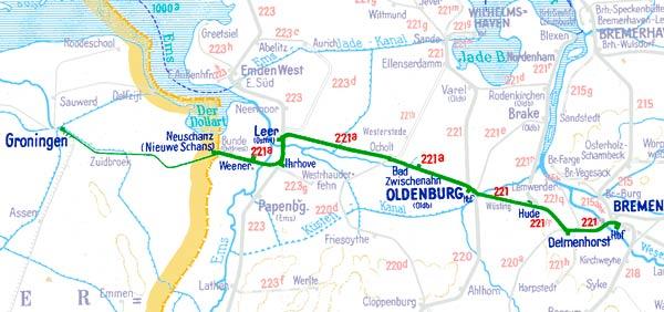 E491-E492-Bremen-Groningen