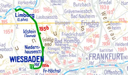 Limburg-Wiesbaden-Frankfurt