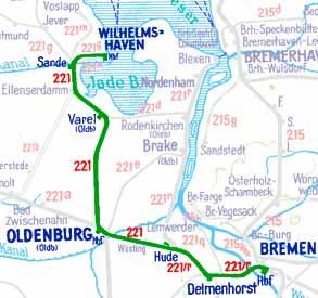 E652-Wilhelmshaven-Bremen