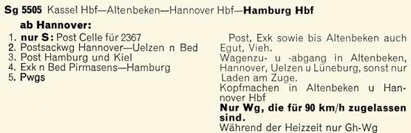 5505-Kassel-HamburgHbf-Gueterzugbildungsvorschriften-GZV-BD-Hamburg-1958-Sommer-050